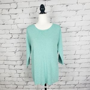 Wilfred Blue Knit Sweater